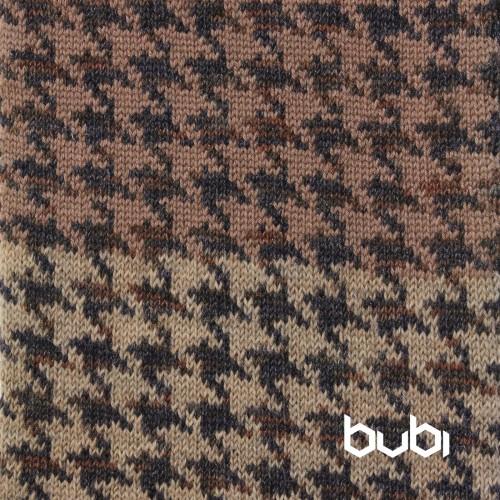 sciarpa ad anello blu grigia marrone texture