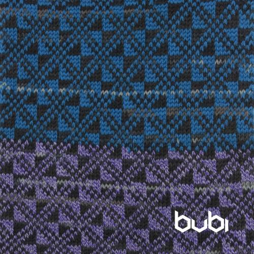 sciarpa ad anello blu lilla texture
