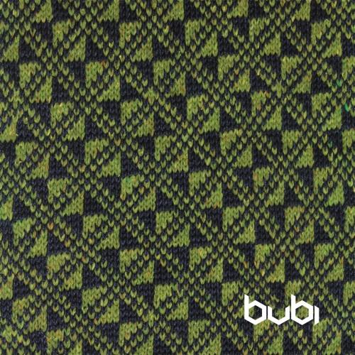 sciarpa ad anello verde blu texture
