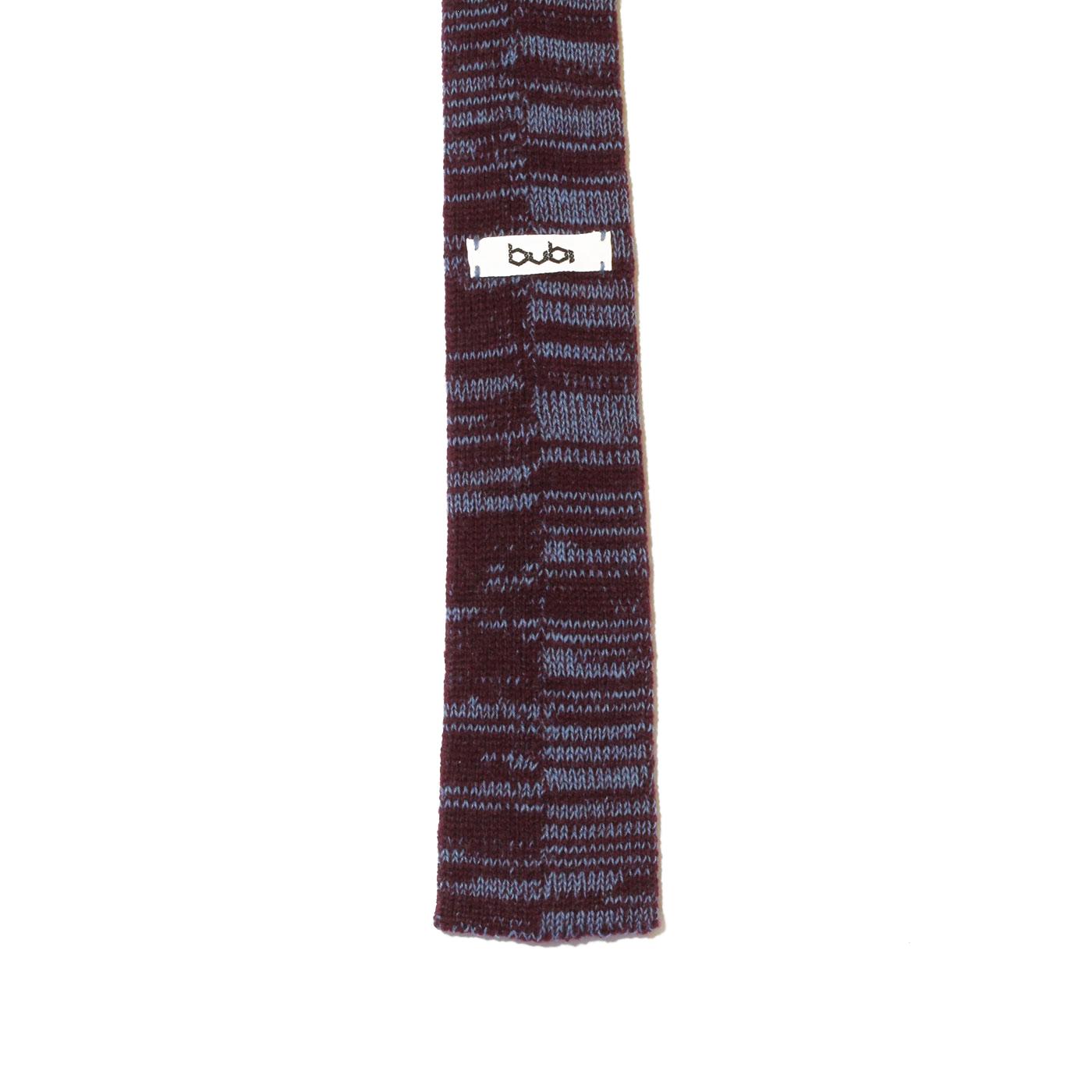 cravatta celeste viola glitch
