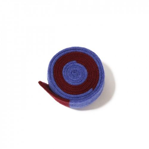 knit tie bordeaux littleblu