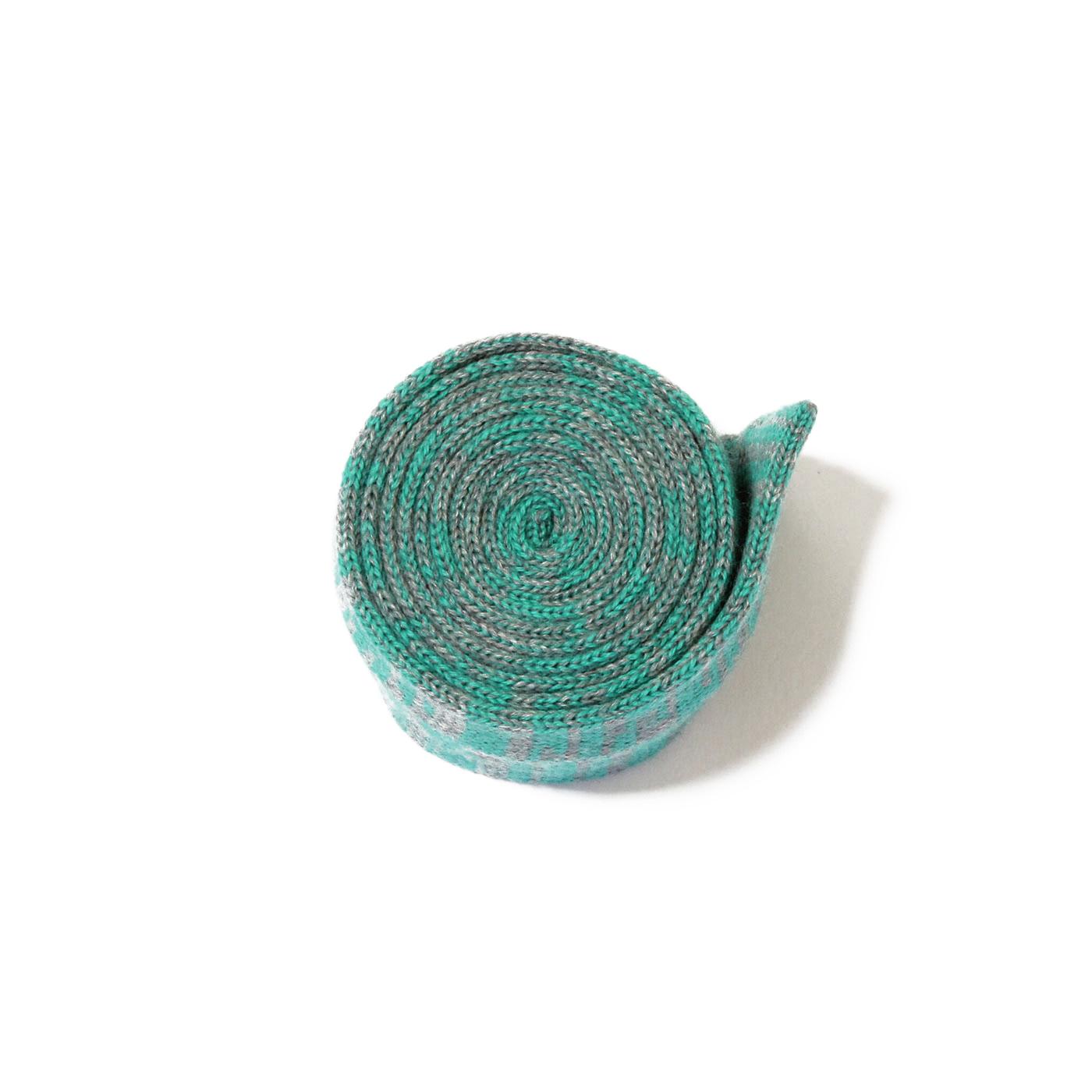Knit tie green verona