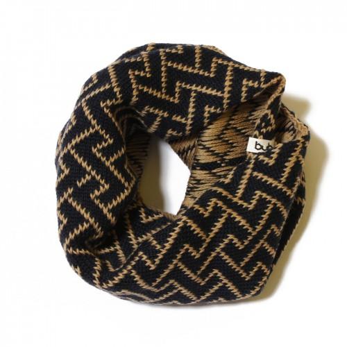 sciarpa ad anello blu avana elettrozeta