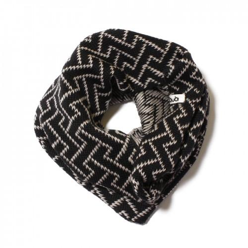 sciarpa ad anello grigio cipria elettrozeta
