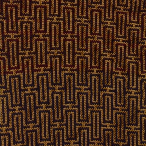 sciarpa ad anello oro rosso viola