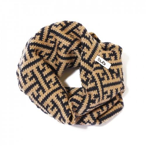 sciarpa ad anello sayagata blu avana