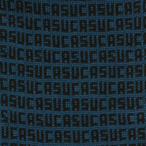sciarpa ad anello azzurro verde suca