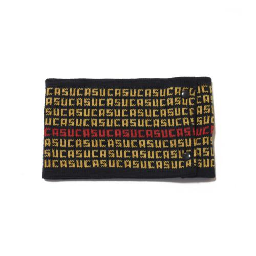 sciarpa ad anello blu giallo rosso suca