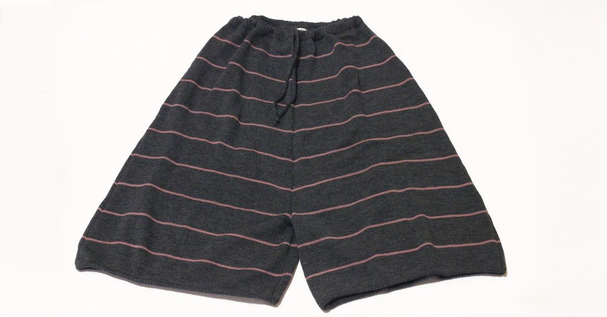 Pantaloni-in-lana-Grigio-Rosa
