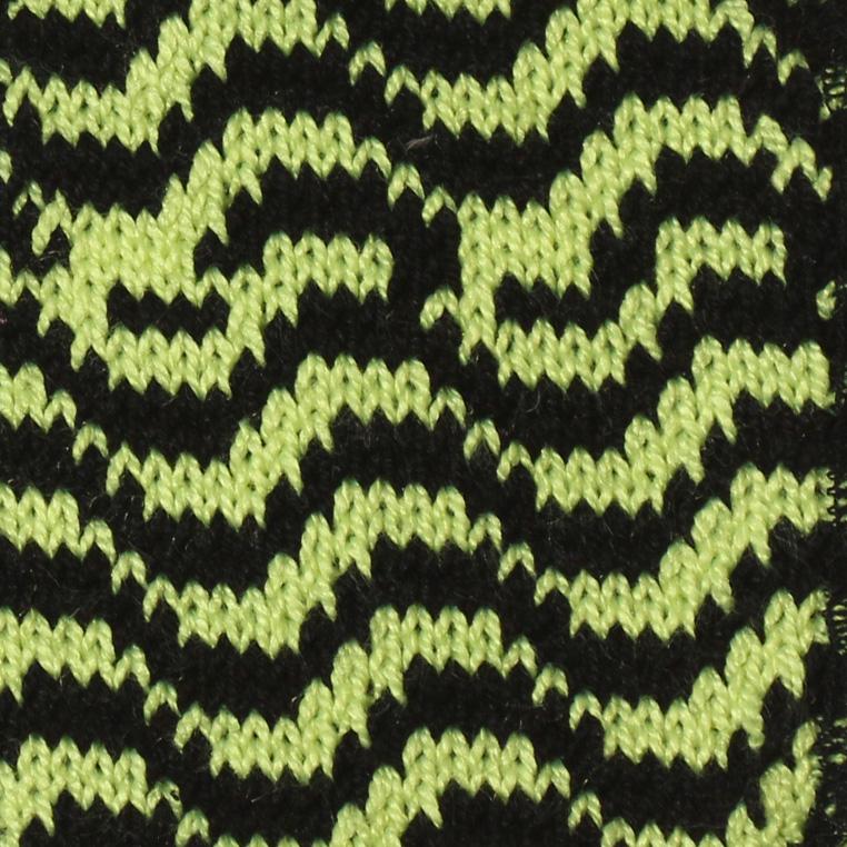 toppa giallo fluo nero