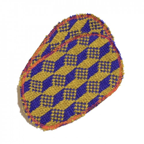 oro blu cubetti