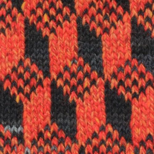 toppa arancio antracite texture