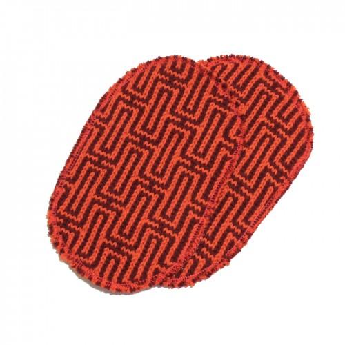 toppa arancio rossa
