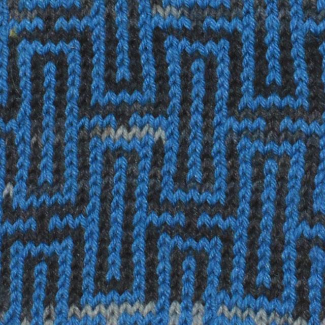 toppa nero azzurra labyrinth texture