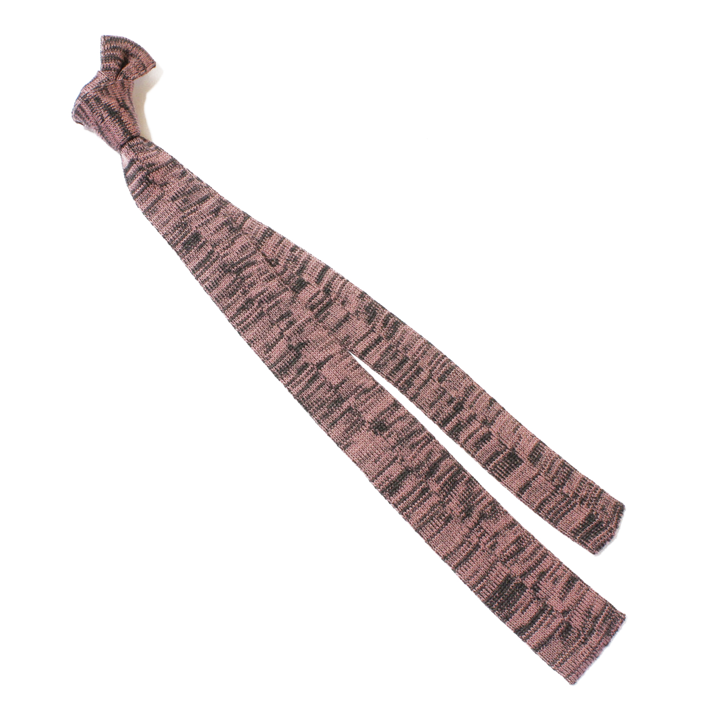 cravatta maglia grigia rosa