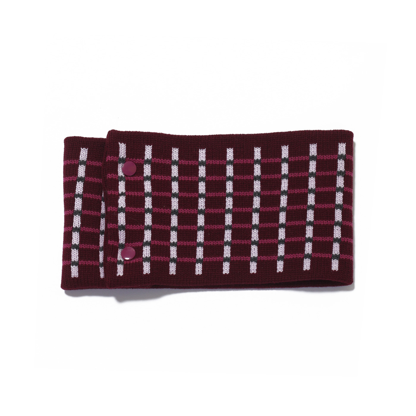 sciarpa ad anello bordeaux rosa viola grigio