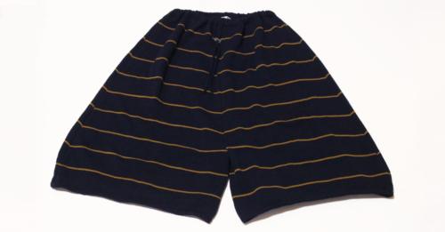 Pantaloni-in-lana-Blu-Senape