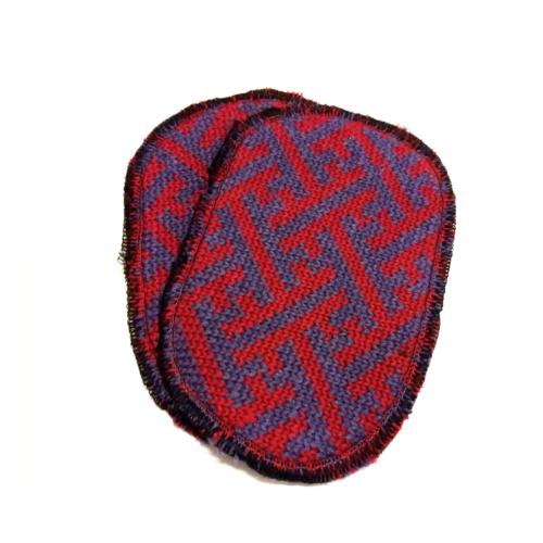Toppa lana lilla rosso sayagatha