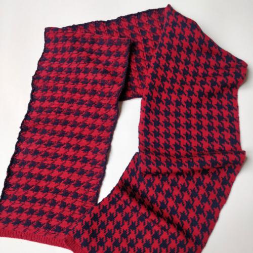 sciarpa lunga in lana