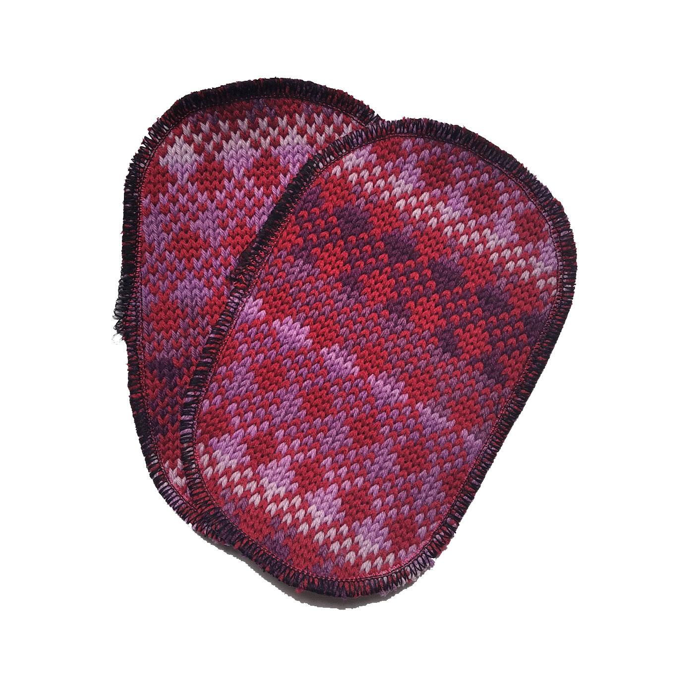 toppa rossa viola sfumino