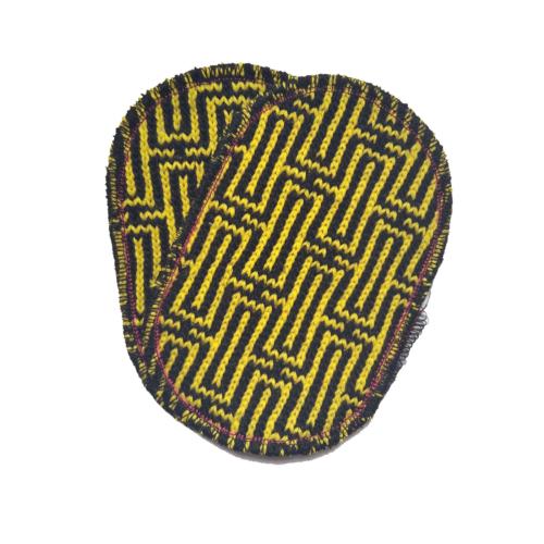 toppa nero giallo labirinth