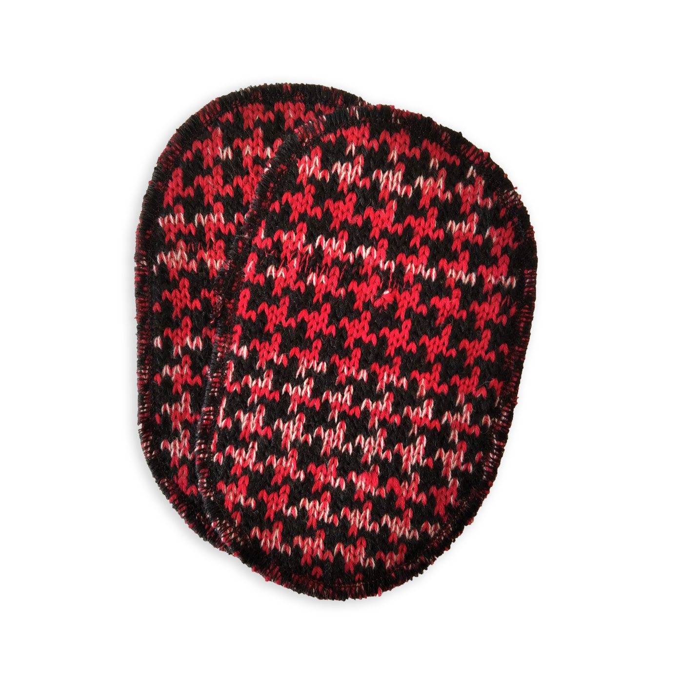 toppa rosso nero Minipieddepoule